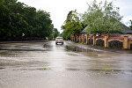 Дорога в Габалинском районе после дождя, архивное фото