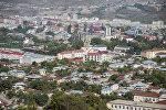 Вид на город Ханкенди, фото из архива
