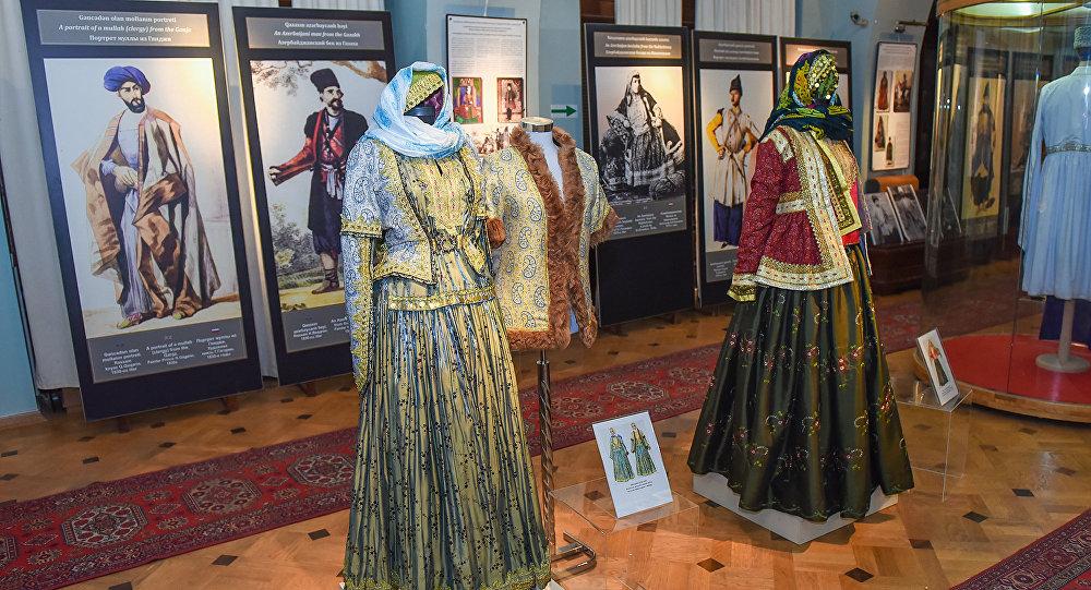 Выставка в Национальном музее истории Азербайджана, фото из архива