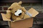 Плюшевый медвежонок, фото из архива
