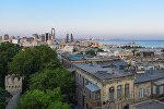 Вид на Ичеришехер в Баку