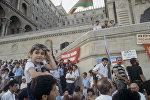 Митинг на площади Азадлыг в Баку, фото из архива