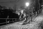 Ночной парк, фото из архива