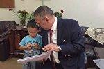 Консул посольства Азербайджана в Ираке Заби Ахундов навестил Абдуллу в Багдаде