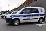 Автомобиль полиции, архивное фото