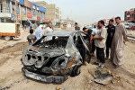 Ситуация на месте теракта в Багдаде, фото из архива