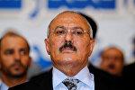 Yəmənin sabiq prezidenti Əli Abdullah Salehi, arxiv şəkli