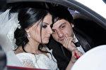 Натаван Хабиби и Суад Алиев в день свадьбы