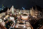 Рождественская ярмарка во Франкфурте, 27 ноября 2017 года