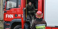 Пожарник, фото из архива