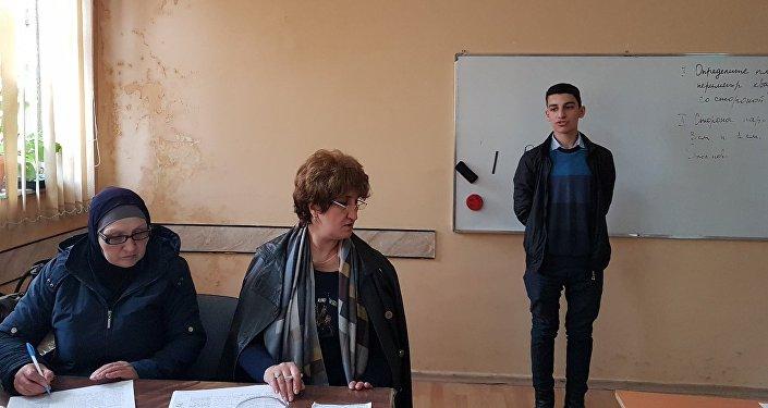Региональный тур Олимпиады прошел в городе Лянкяран
