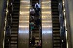 Metro eskalatoru, arxiv şəkli