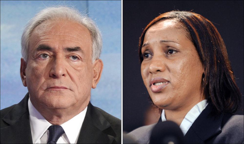 Бывший глава МВФ Доминик Стросс-Кан и обвинившая его в сексуальном насилии эмигрантка из Гвинеи Нафиссату Диалло