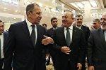 Rusiya Türkiyə və İran xarici işlər nazirləri