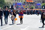 Ermənistanın Respublika meydanında Nikol Paşinyanın tərəfdarlarının mitinqi başlayıb