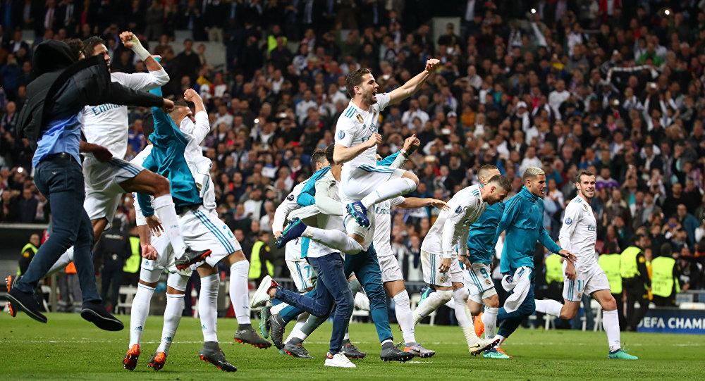 Полуфинал ЛЧ Реал Мадрид - Бавария Мюнхен, фото из архива