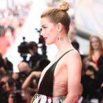 Американская актриса Эмбер Херд на красной дорожке 71-го Каннского международного кинофестиваля