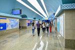 Станция Сахиль Бакинского метрополитена после капитального ремонта и реконструкции