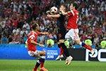 Futbol. DÇ-2018. Rusiya - Xorvatiya oyunu