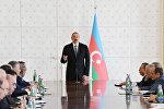Выступление президента Азербайджана Ильхама Алиева в ходе заседания Кабинета Министров, посвященного итогам первой половины 2018 года