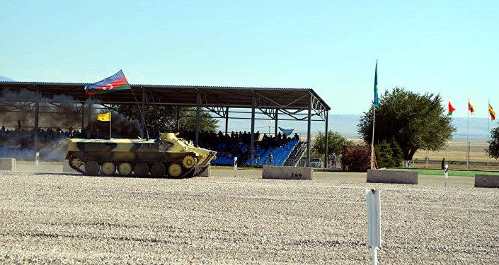 Конкурс Мастера артиллерийского огня-2018 на военной базе Отар в Казахстане