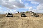 Соревнования за звание лучшей танковой роты