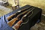 Охотничьи ружья, фото из архива
