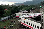 Поезда Puyuma Express сошел с рельсов на севере Тайваня