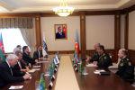 Министр обороны встретился с сопредседателями Минской группы ОБСЕ