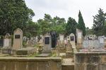 Сельское кладбище в Азербайджане. Архивное фото