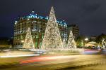 Новогодняя елка в Баку
