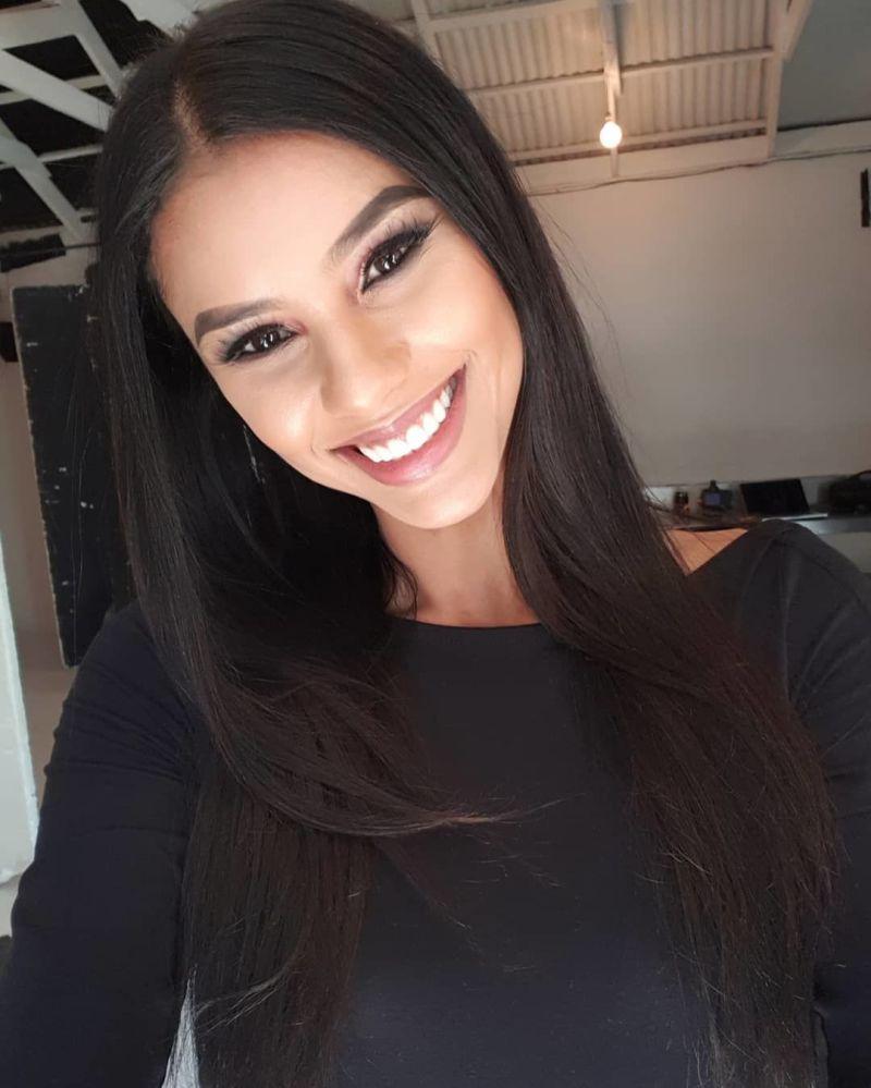 Miss Universe 2018i fəth edən Tamarin Qrin (Cənubi Afrika)