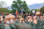 Venesuela prezidenti Maduro camaata qarşısında