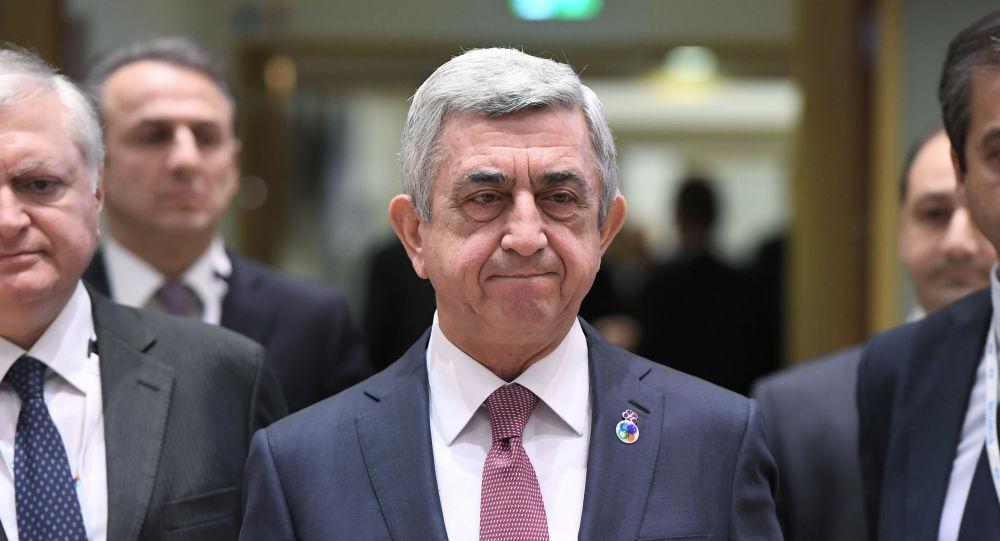 Ermənistanın sabiq prezidenti Serj Sarqsyan