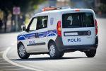 Автомобиль патрульно-постовой службы в Баку