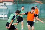 Тренировка футбольного клуба Сабаил