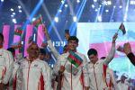 Сборная Азербайджана на церемонии открытия фестиваля