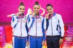 Финал многоборья чемпионата мира по художественной гимнастике в Баку