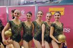 Групповая команда Азербайджана по гимнастике