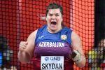 Метательница молота Анна Скидан на чемпионате мира по легкой атлетике, который проходит в Дохе (Катар)