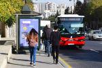Автобусная остановка в Баку, фото из архива