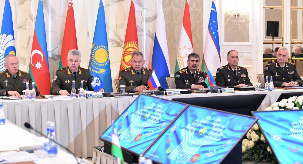 Заседание Совета министров обороны стран СНГ