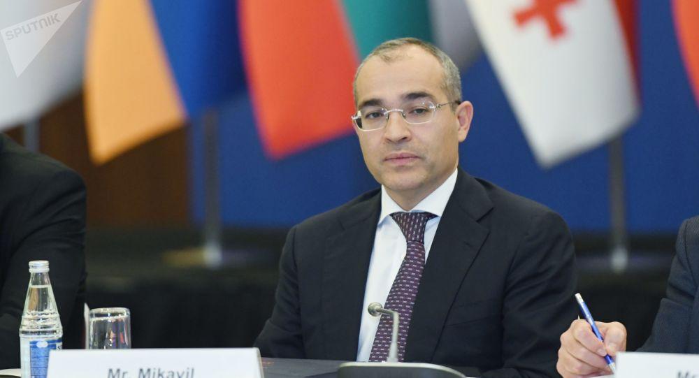Министр экономики Азербайджана Микаил Джаббаров, фото из архива
