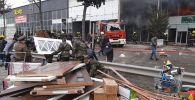 Пожар на рынке стройматериалов Eurohome