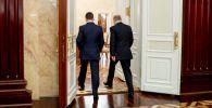 Президент РФ Владимир Путин и бывший председатель правительства РФ Дмитрий Медведев, фото из архива
