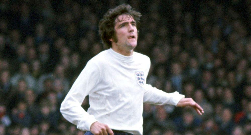 Футболист английского клуба Лидс Нормана Хантер, фото из архива