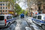 Дезинфекционные работы на улицах Баку, фото из архива