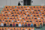 Имитация болельщиков на стадионе в Южной Корее, фото из архива