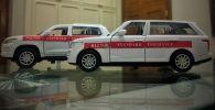 Игрушечные автомобили  ОАО Standart Insurance, фото из архива