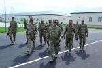 Закир Гасанов принял участие в открытии новых воинских частей